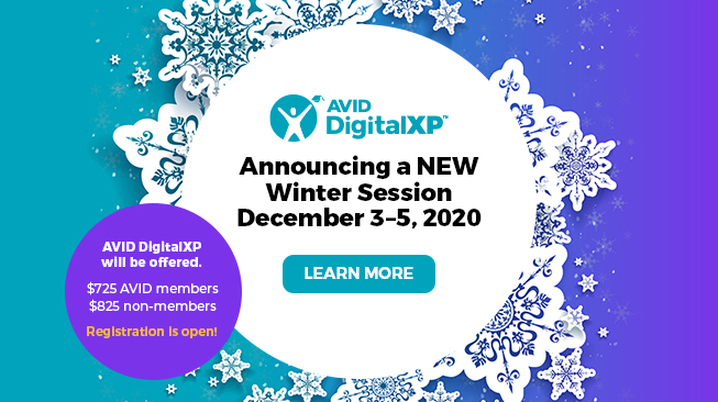 AVID DigitalXP Winter