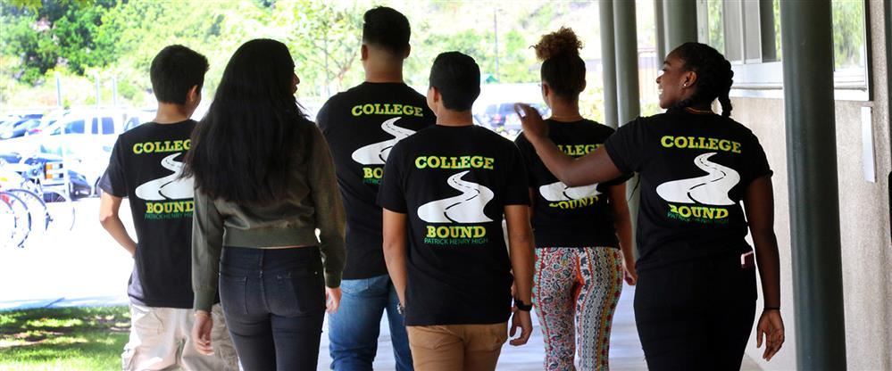 AVID students headed to college.